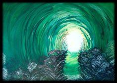 Licht am Ende des Tunnels www.creationsgiselle.com