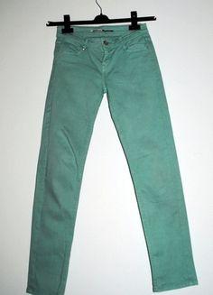 Kup mój przedmiot na #vintedpl http://www.vinted.pl/damska-odziez/rurki/8025287-mietowy-smak-mietowe-rurki-skinny-stradivarius-rozm-36-s