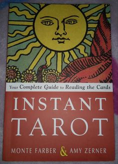 #Instant #Tarot Your #Complete #Guide to #Reading the #Cards by Monte Farber and Amy Zerner @WeiserBooks Can be found at http://amzn.to/2nLxllh