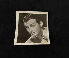 Robert Taylor Small Vintage Black and White Photograph | Etsy Golden Age Of Hollywood, Hollywood Celebrities, See Picture, Vintage Black, Vintage Items, Photograph, Black And White, Etsy, Photography
