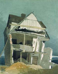A Ruined House - John Sell Cotman (1809)