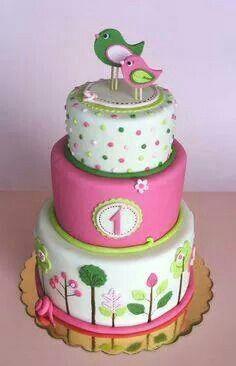 Joli gâteau d'anniversaire... ...