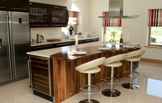 Hi Gloss Kitchen Limerick Fitted Kitchens, Gloss Kitchen, Modern, Table, Room, Furniture, Design, Home Decor, Bedroom