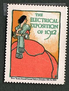 NYC Electrical Expo of 1912 Poster Stamp