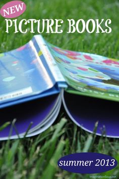 NEW PICTURE BOOKS FOR SUMMER READING 2013 - via Imagination Soup