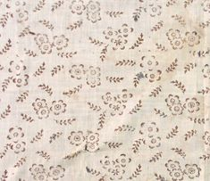 Handkerchief Category: Textiles  Place of Origin: England or United States, United Kingdom or United States, Europe or North America  Date: 1795-1805  Materials: Linen  Techniques: Block printed, Woven (plain), Mordant style