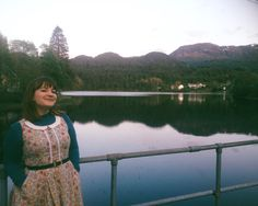 Day 14 - From glitz and glamour to my country paradise. Hanging out on Tysnes with my Coffee Date Dress. #mmmay16 #sewheijude