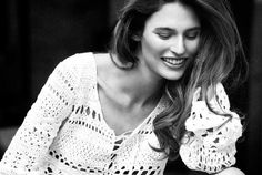 Natural Beauty – Cover girl Bianca Balti stars in the March issue of Vanity Fair Italy. Photographed by Signe Vilstrup, the Italian model dons a spring wardrobe… Bianca Balti, Lace Art, Italian Models, Most Beautiful Faces, Mini Vestidos, Crochet Fashion, Italian Fashion, Model Photos, Lace Tops