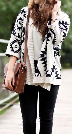 Tribal Cardigan Sweater ♥