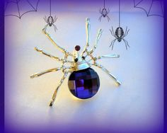 Halloween Twilight Purple Crystal Spider Silver Pin Brooch Goth Punk Steampunk for sale online Gothic Halloween Costumes, Halloween Costume Accessories, Halloween Jewelry, Halloween Party Favors, Halloween Bags, Spirit Halloween, Spider Art, Spider Costume, All Things Purple