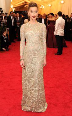 2014 Met Gala Top 10: Amber Heard in Giambattista Valli