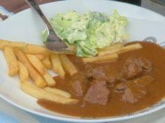 Carbonade flammande, prato típico da Bélgica (Grep) (Foto: Globo Repórter)