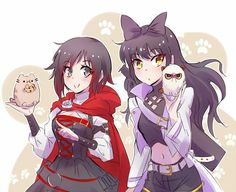 RWBY Ruby and Blake