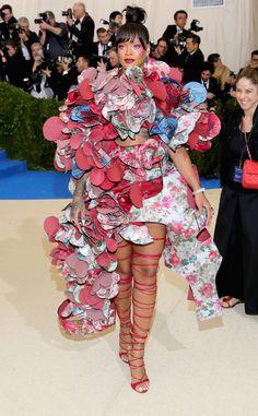 Rihanna from 2017 Met Gala: Red Carpet Arrivals | E! Online