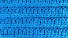 Ridge Stitch Note: To identify the loop under the top of the stitch, start with the back of the previous row facing you (the row you're about to work in). No...