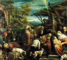Jacobo Massano: Adoración de los Magos, 1576.