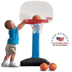 Scoring Basketball Academy Little Tikes Easy Outdoor Mini Score Basketball Sport Set Adjustable For Kids #LittleTikes - TSA Is a Complete Ball Handling, Shooting, And Finishing System!  Here's What's Included...