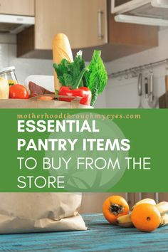 10 Essential Pantry Items To Buy From The Store