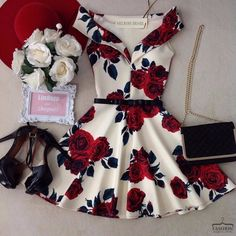 Swans Style is the top online fashion store for women. Shop sexy club dresses, jeans, shoes, bodysuits, skirts and more. Fashion Mode, Teen Fashion Outfits, Mode Outfits, Trendy Outfits, Girl Outfits, Fashion Dresses, City Fashion, Hoco Dresses, Homecoming Dresses