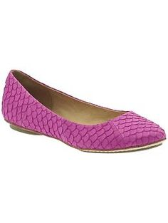 Miz Mooz Panther Flat $98  Round toe ballet flat  Scale texture upper  Leather lining  Synthetic outsole  Slip on  Upper: 100% leather