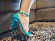 Lookbook – Viciada em Azul tiffany ( Verstido de Poá Forever 21 e Sapato Los Angelis)  #lookdodia #moda #blog #fashion #alineinlove