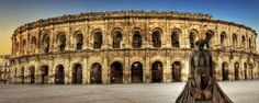 Top 10 Tourist Attractions in France Nimes France, Montpellier, Travel Tours, Travel List, Hello France, Visit France, France Travel, Attraction, Summertime