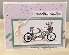 Card Using the NEW Sale a Bration stamp set Pedal Pusher