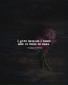 I give because i know how it feels to want. via (http://ift.tt/2cfuytr)