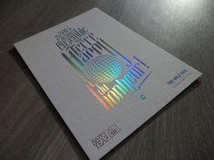 Voeux 2015, Marquage Holographique Laser