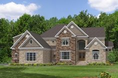 3362 Sq. Ft. House Plan [Cherrybrook (33-002-330)] from Planhouse - Home Plans, House Plans, Floor Plans, Design Plans