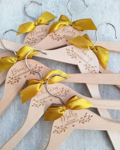 ⭐⭐⭐⭐⭐ 'I'm so happy that I ordered from Bridesmaid Hangers. The quality is amazing. They arrived quickly and were packed securely to ensure they didn't break. These are going to be perfect on wedding day!!! If you're on the fence just do it!' • • • • • #bridesmaidhangers #personalizedhangers #bridesmaidgift #bridalshowergift #bridalpartygifts #bridesmaids #bridalshower #bridalparty #giftideas #bridesmaidideas #bridesmaidgiftideas #bridesmaids #bridesmaidduty #personalizedhanger #handmadegifts Bridesmaid Hangers, Bridesmaid Duties, Wedding Hangers, Bridesmaid Gifts, Bridesmaids, Personalized Hangers, Personalized Wedding, Bride Hanger, Wedding Photos