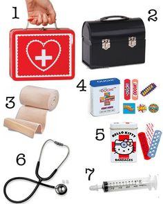 A DIY Doctor Play Kit