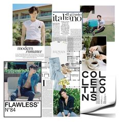 """""""Taemin of SHINee for Cosmopolitan August 2015 Issue"""" by xoreinaox ❤ liked on Polyvore"""