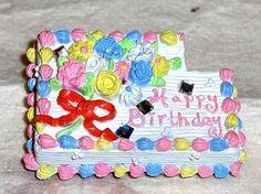 Japanese Cake Magnet Kawaii Food Happy by OishisoBitsAndBites, $5.00