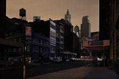 Christophe Jacrot a profité d'une panne de courant dans quartier sud de Manhattan pour prendre cette série de clichés.