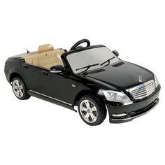 Found it at Wayfair - 6V Mercedes-Benz S-Klasse Car in Black