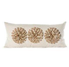 Daniel Stuart Studio - Gallery - Aster Pillow - Churchill Linen Aster Pillow col: Gold / Flax