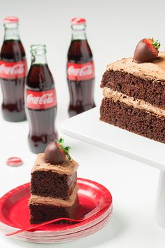 No need to buy a birthday cake with this Chocolate Coca-Cola Birthday Cake Recipe! The best birthdays begin with a cake made of your favorite treats!