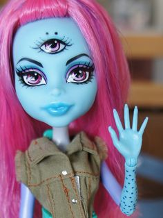 Monster High Create a Monster Three-Eyed Ghoul