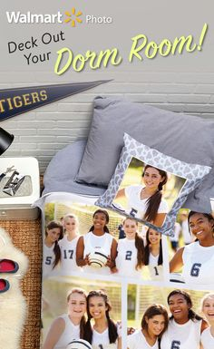 Go back to school in style with photo  blankets, pillows and more.   All at Everyday Low Prices.