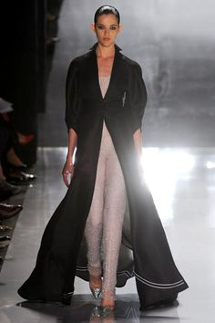 Reminds me of 50s loungewear!! Chado Ralph Rucci Spring 2012 RTW