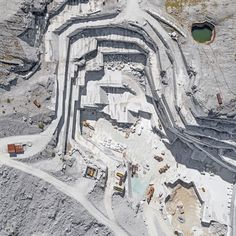 Carrara Marble Mines, Bernhard Lang - ATLAS OF PLACES