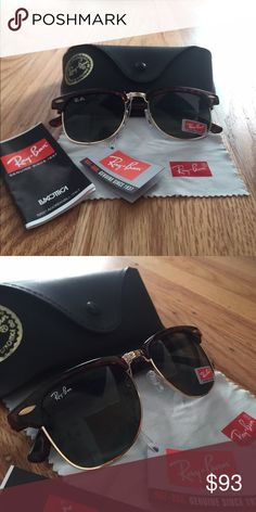 ray bans clear frame