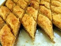 Baklava           (Greek, Turkish nut and phyllo sweet pastry) An ancient treat, baklava was first cooked up in its current form by Ottoman cooks in present-day Turkey. Its popularity quickly spread to Greece and other countries in the region. Sticky and sweet, it is the iconic Middle Eastern pastry. And its surprisingly easy to make