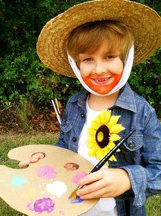 This website has great art inspired costume ideas, Vincent Van Gogh | Art Masterpiece Corner