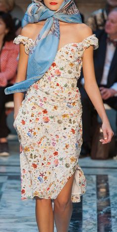 Vivienne Westwood Red Label Spring 2013.  I love this dress!