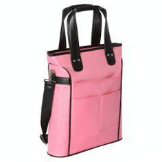 Painterly Pink Blue Coral Pastel Stripes Laptop Cases 15.6 for Women Laptop Shoulder Bag Carrying Briefcase Handbag Sleeve Case