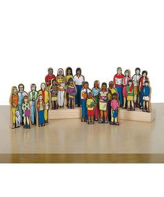 Perfect for the playroom or classroom, this detailed set features 24 figurines designed to encourage personal identity and cultural awareness. Preschool Block Area, Multicultural Classroom, Block Play, Family Set, Learning Styles, Our Kids, Educational Toys, Fun Activities, Kids Toys