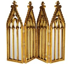 Point of reflection. Accent your home decor with this Valerie Parr Hill antique-style cathedral mirror. QVC.com
