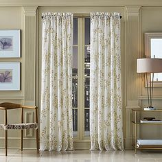J. Queen New York™ Winslow Botanical Print Window Curtain Panel